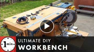 Ultimate DIY Workbench!