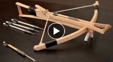 How to Make a Mini Crossbow