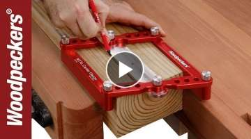 TOP 5 Amazing DIY Wood Working Tools 2018 #2