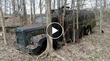 Moving an antique truck