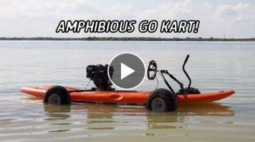 Amphibious Go Kart Build!