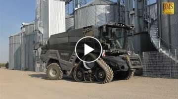Fendt IDEAL 9T - 12,2 m on Tour in Germany - new biggest combine Fendt wheat harvest