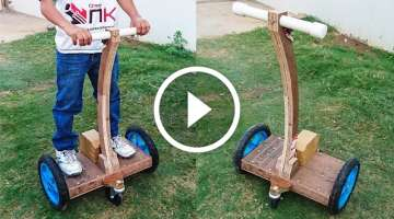 How to Make a Hoverboard with Handle at Home