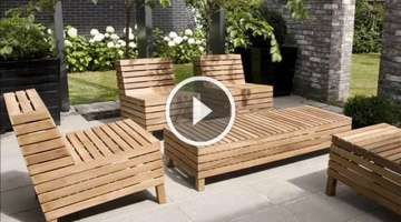 Top 20 Cool Pallet Table & Pallet Chair Design Ideas