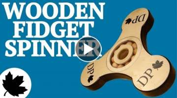 Giant Wooden Fidget Spinner |x| How To Woodwork