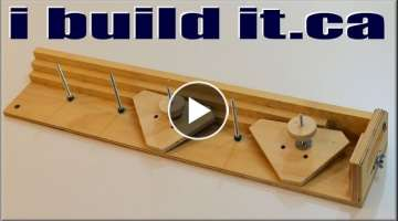 THE BEST Table Saw Taper Jig