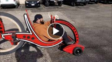 DIY - Drill Powered Big Wheels Scooter | Woodworking Project