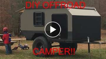 Offroad Overland Camping Trailer Build E43
