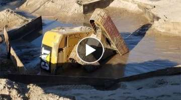 Everyone Should Watch This IDIOTS Driver Video | Heavy Equipment Machines Excavator Fails Win Ski...