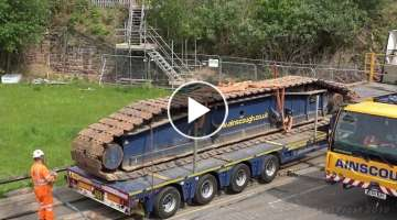 Second Garston bridge removal ( crane set up )