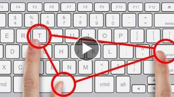 32 Secret Combinations on Your Keyboard