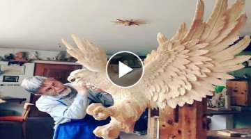 Amazing Wooden Sculptures | How to make | Italian Artist | wood carving