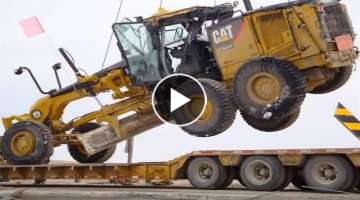 Extreme Dangerous Idiots Biggest Bulldozer Heavy Equipment Operator Climbing Fail & Win