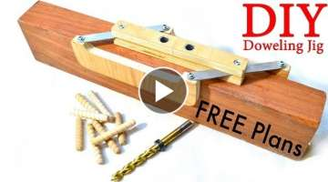 Self Centering Doweling Jig FREE PLANS