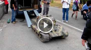 This Mini King Tiger Tank Is Probably The Most Badass Toy We Have Ever Seen!!!