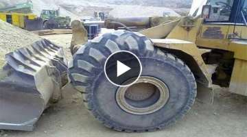 Dangerous Workplace With The World's Largest Machines | Work With Biggest Tires