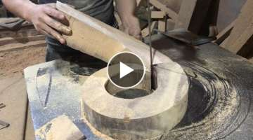 You Need To See To Know - Asia Carpenters Woodworking Techniques High Pole, Wooden Curved Awesome