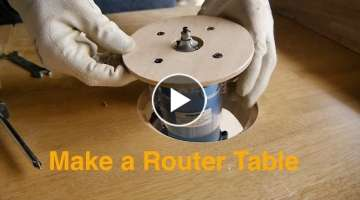 Make a Router Table Failure