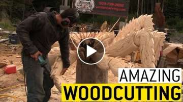 Amazing Woodworking || JukinVideo