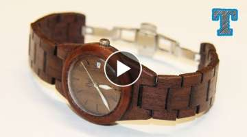 Making a Homemade Wooden Watch