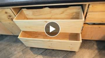 Optimise The Space Under The Kitchen Sink With GIANT Drawers