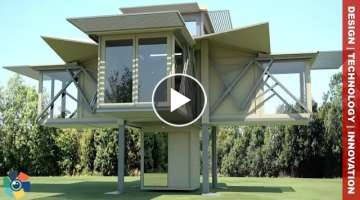 10 FUTURISTIC HOMES - TRANSFORMING HOUSES AND DESIGN