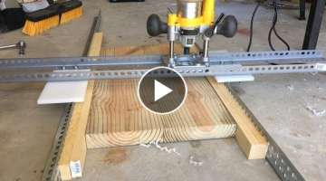 Let's Make an Easy and Adjustable DIY Router-Planer | How To