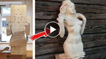 Amazing Woodworking Skills, Product. Perfect DIY Project. Woodworkers That Are Next Level 2019 | ...