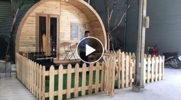 Smart mobile wooden house 24m2 - a design of Zentado