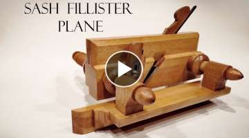 021 Sash fillister plane - building process