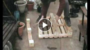 How To Dismantle A Wooden Pallet