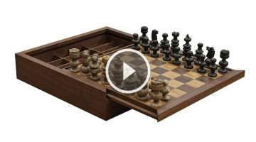 Making a Custom Chess Board & Box - 268