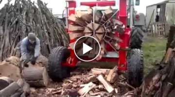 Amazing Wood Cutting Machine