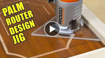 Trim Router / Palm Router Design Base Jig