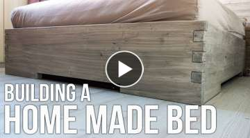 Building a homemade bed / Hjemmelaget seng