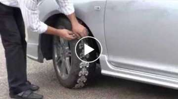 Snow chains - next generation