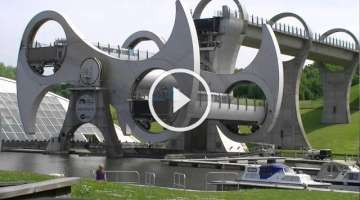 Falkirk Wheel, Central Scotland