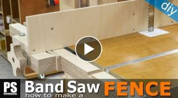 How to Make a Band Saw Fence