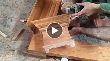 Building, Assemble A Wooden Bedroom Door Frame With Crown Molding Beautiful, Simple, Fast & Cheap...