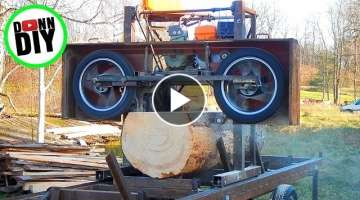 Maximum Cut Width - Homemade Sawmill #27