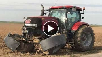 Tractors Without Wheels In Extreme Conditions - Tractors Stuck In Mud