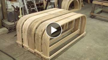 Steam bending wood, 1