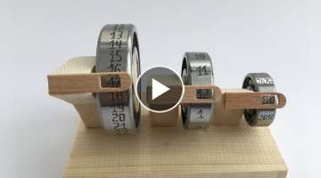 How to Make a Wooden Calendar with Bearings