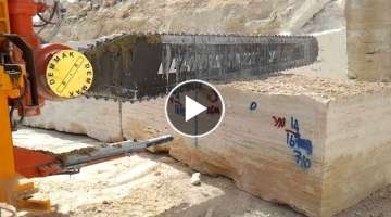 Awesome Technology Granite Mining At Quarry !! Granite Production Process