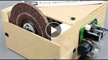 DIY Grinding & Cutting Machine using 775 Motor || How to