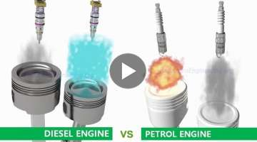 Petrol (Gasoline) Engine vs Diesel Engine