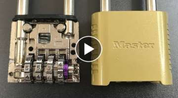 Master Lock 875/975 Decoded WITHOUT ANY TOOLS !