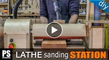 Lathe Sanding Station: Thickness Sander