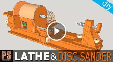 Homemade Lathe & Disc Sander