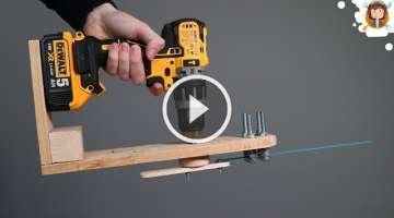 How to make an Electric Saw